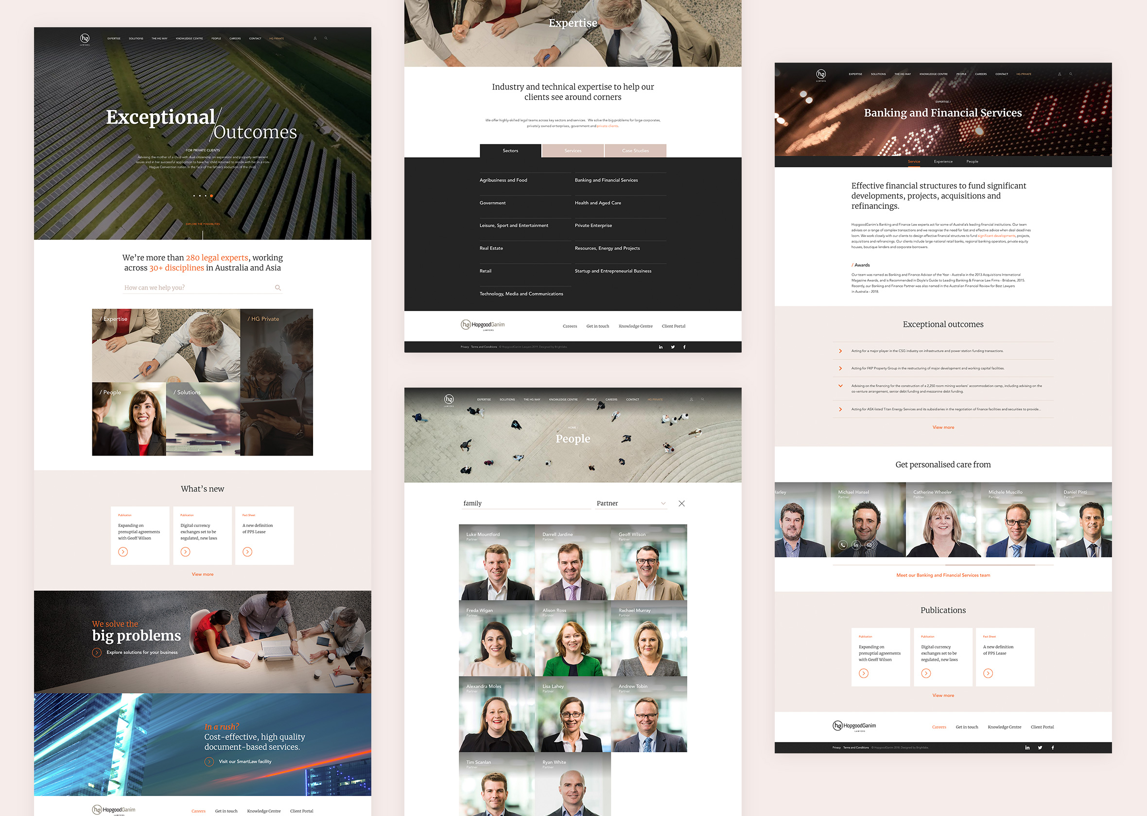 2 HG Webpages