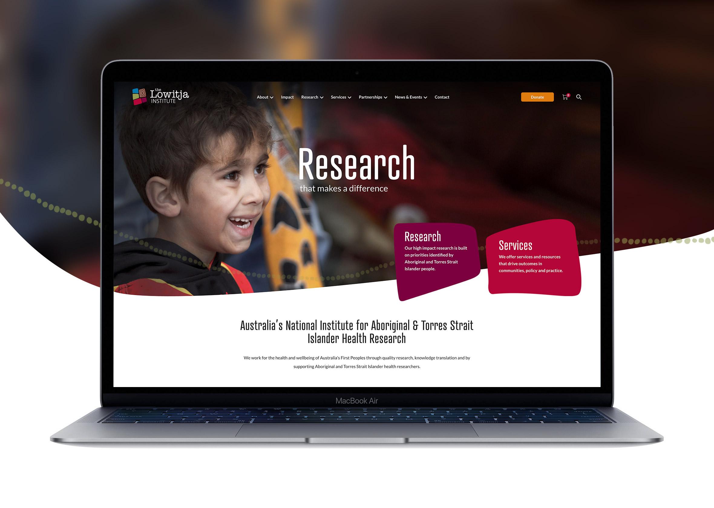 1 Lowitja Homepage computer