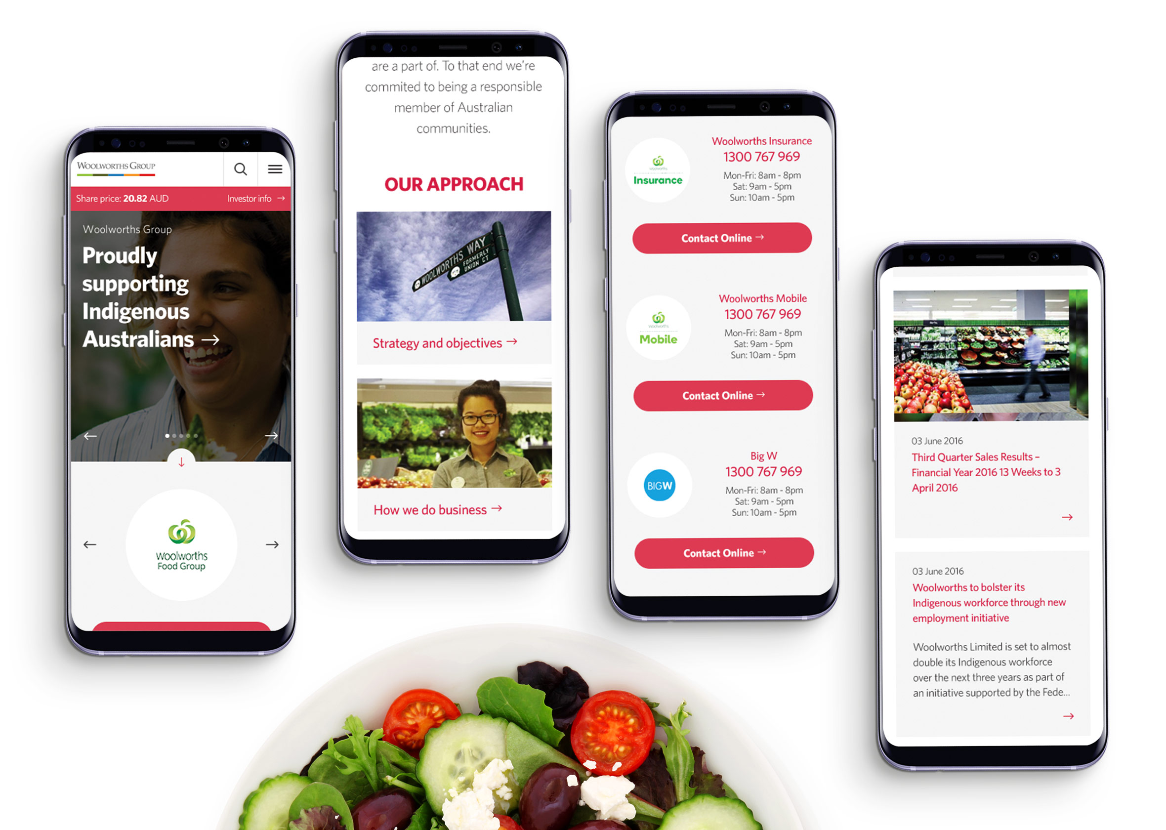 9 Woolworths MobileScreens