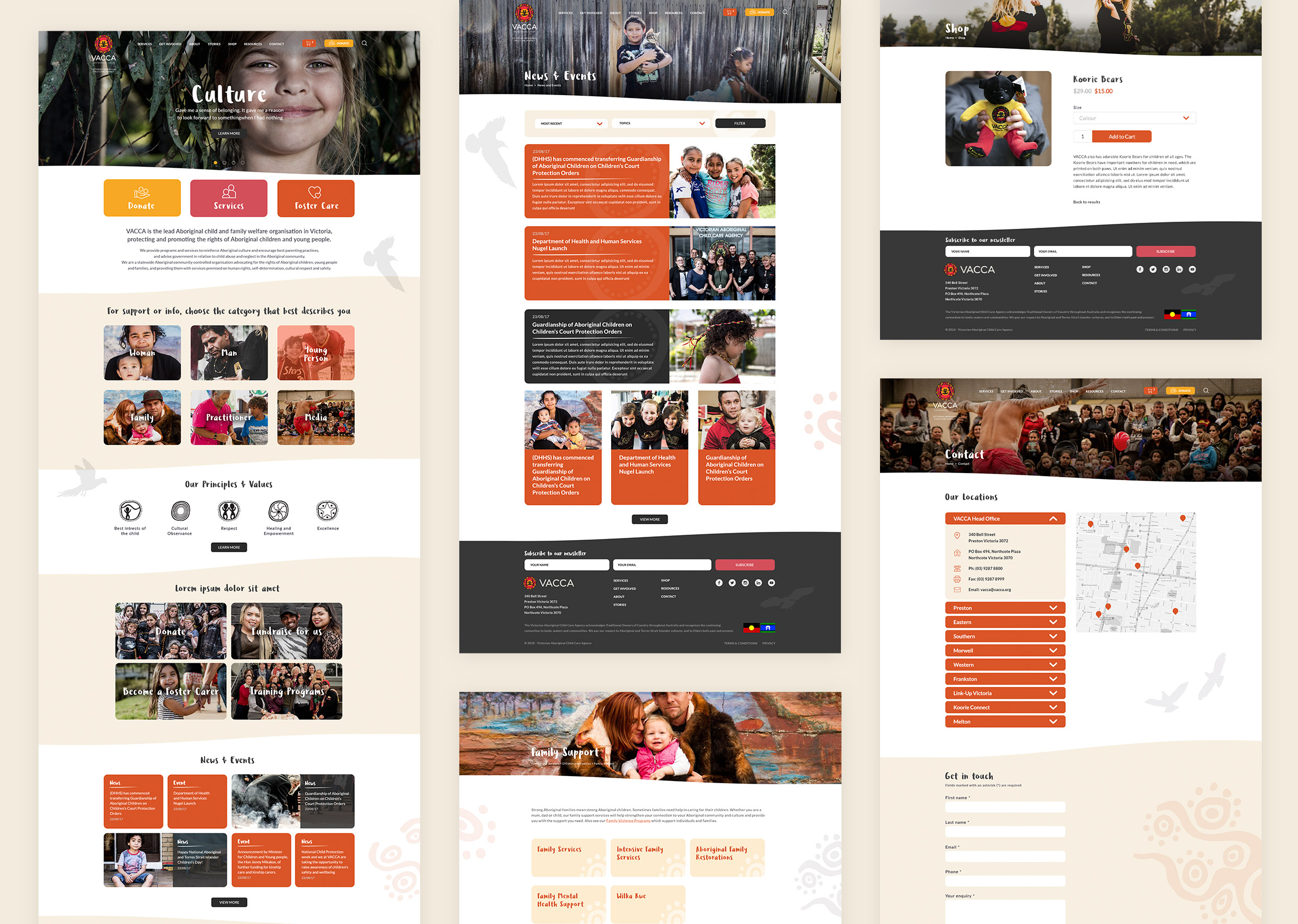 3 VACCA Webpages