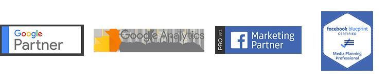 Bright Labs Certifications - Facebook Marketing Partner, Facebook Blueprint Certification, Google Partner, Google Analytics Certified Professional,
