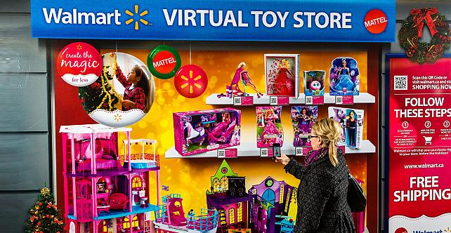 WalMart Virtual Toy Store